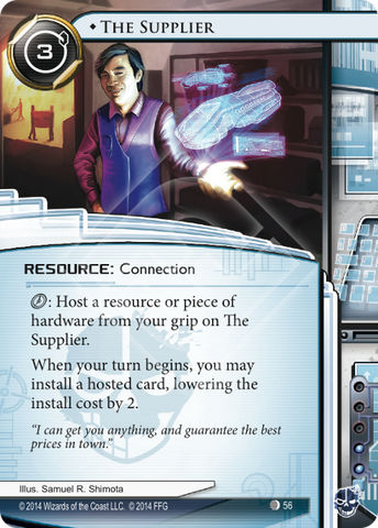 Android Netrunner The Supplier Image