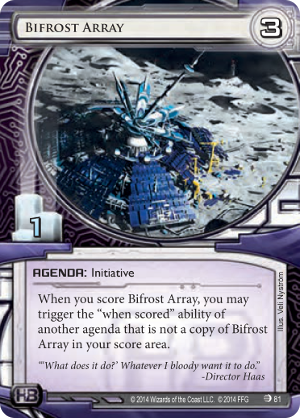 Android Netrunner Bifrost Array Image