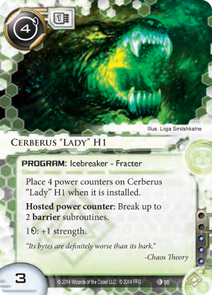 "Android Netrunner Cerberus ""Lady"" H1 Image"