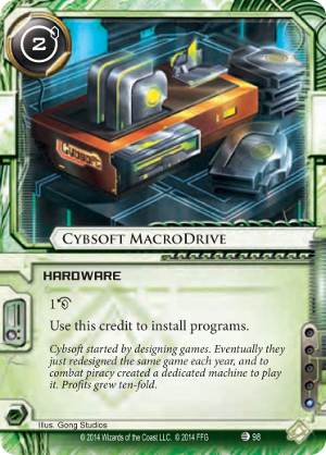 Android Netrunner Cybsoft MacroDrive Image