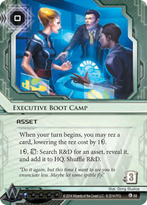 Android Netrunner Executive Boot Camp Image