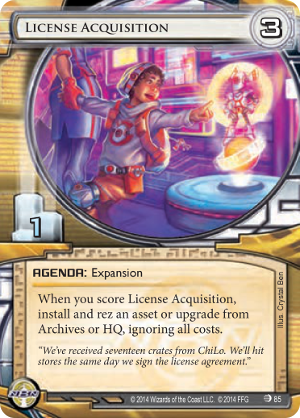 Android Netrunner License Acquisition Image