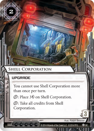 Android Netrunner Shell Corporation Image