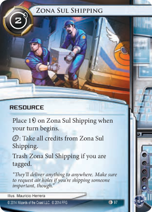 Android Netrunner Zona Sul Shipping Image