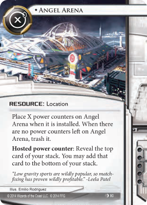 Android Netrunner Angel Arena Image