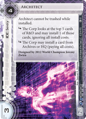 Android Netrunner Architect Image