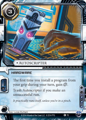 Android Netrunner Autoscripter Image