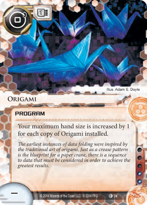 Android Netrunner Origami Image