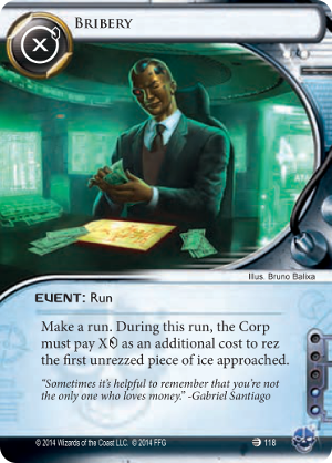 Android Netrunner Bribery Image