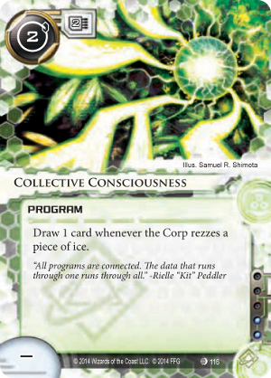 Android Netrunner Collective Consciousness Image