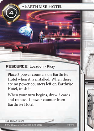 Android Netrunner Earthrise Hotel Image