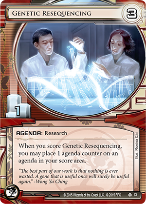 Android Netrunner Genetic Resequencing Image