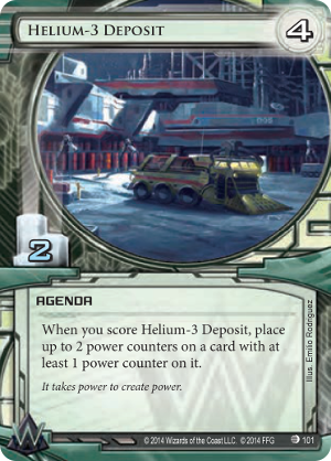 Android Netrunner Helium-3 Deposit Image