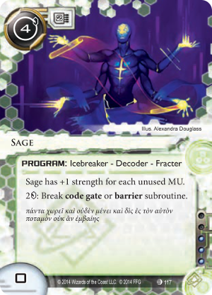 Android Netrunner Sage Image