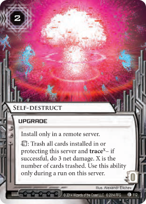 Android Netrunner Self-destruct Image