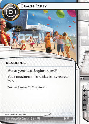 Android Netrunner Beach Party Image
