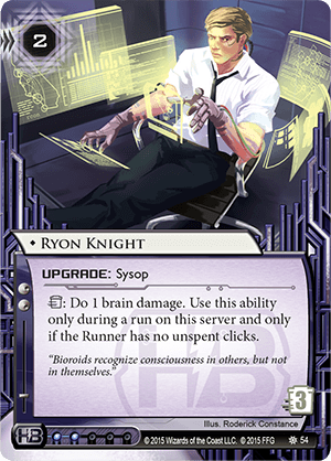Android Netrunner Ryon Knight Image
