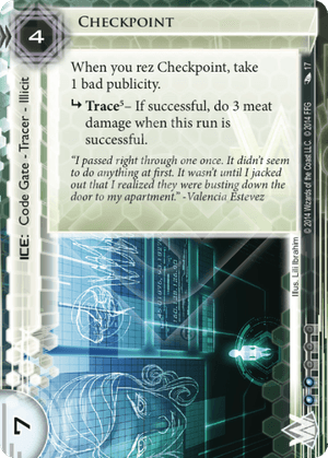 Android Netrunner Checkpoint Image