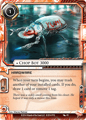 Android Netrunner Chop Bot 3000 Image