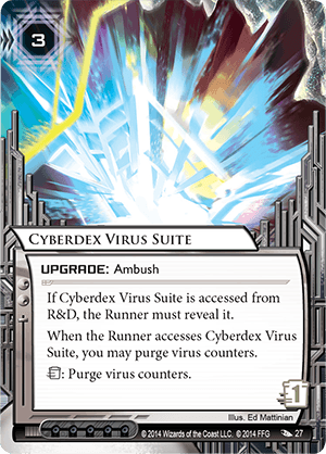 Android Netrunner Cyberdex Virus Suite Image