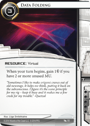 Android Netrunner Data Folding Image