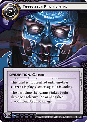 Android Netrunner Defective Brainchips Image