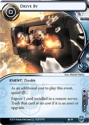 Android Netrunner Drive By Image