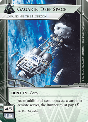 Android Netrunner Gagarin Deep Space: Expanding the Horizon Image