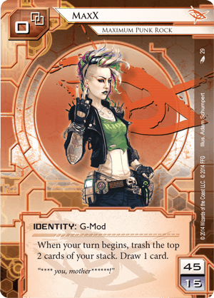 Android Netrunner MaxX: Maximum Punk Rock Image