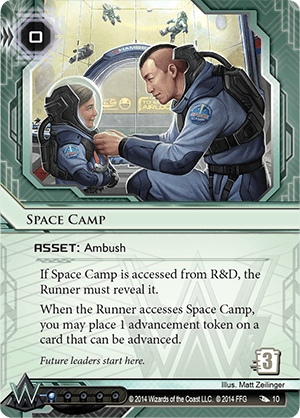 Android Netrunner Space Camp Image