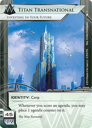 Android Netrunner Titan Transnational: Investing In Your Future Image