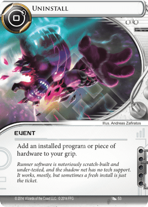 Android Netrunner Uninstall Image