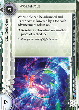 Android Netrunner Wormhole Image
