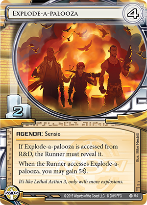 Android Netrunner Explode-a-Palooza Image