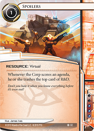 Android Netrunner Spoilers Image