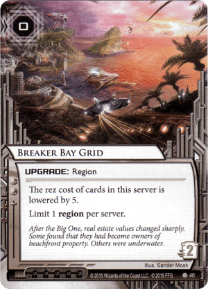 Android Netrunner Breaker Bay Grid Image