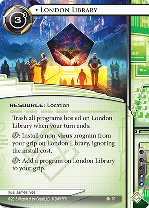 Android Netrunner London Library Image