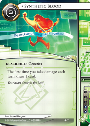 Android Netrunner Synthetic Blood Image