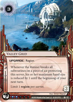 Android Netrunner Valley Grid Image