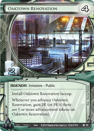 Android Netrunner Oaktown Renovation Image