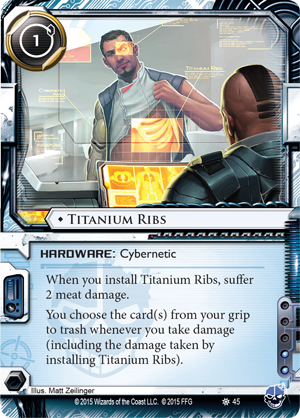 Android Netrunner Titanium Ribs Image