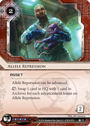 Android Netrunner Allele Repression Image