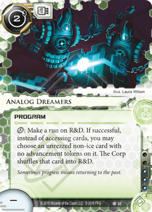 Android Netrunner Analog Dreamers Image