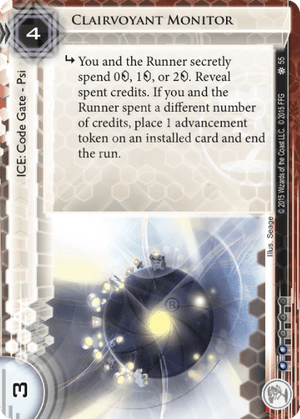 Android Netrunner Clairvoyant Monitor Image