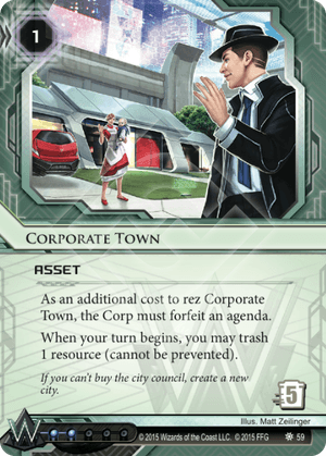 Android Netrunner Corporate Town Image