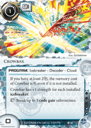 Android Netrunner Crowbar Image