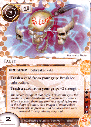 Android Netrunner Faust Image