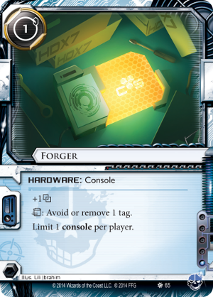 Android Netrunner Forger Image