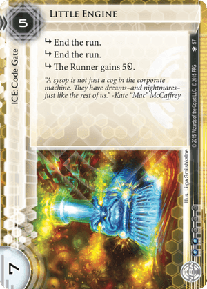 Android Netrunner Little Engine Image