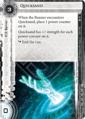 Android Netrunner Quicksand Image